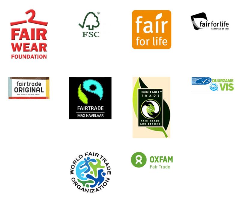 fairtrade logos